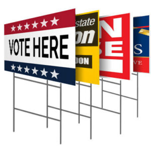 Yard Signs - 24x18 - 2 sided