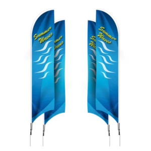 Feather Flags - Double Side Printing